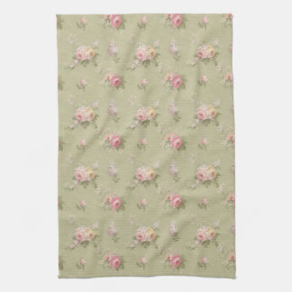 Cottage Chic Roses Hand Towel