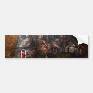 Cottage - Cranford, NJ - Autumn Cottage Bumper Stickers