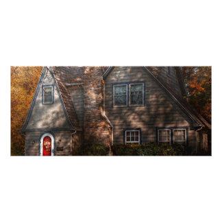 Cottage - Cranford, NJ - Autumn Cottage Personalized Rack Card
