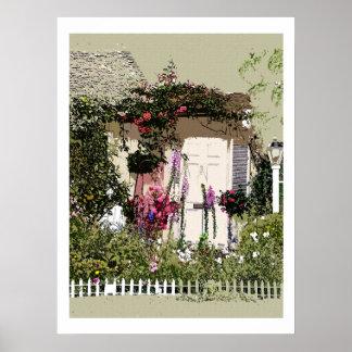 Cottage Dreams Art Print