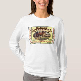 Cottage Eatmor Cranberries Brand Label T-Shirt
