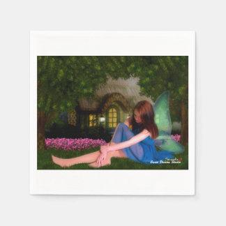 Cottage Fairy Napkin