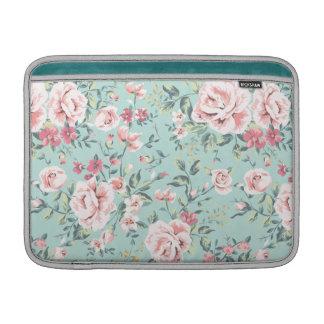 Cottage Floral Pattern MacBook Air Sleeve