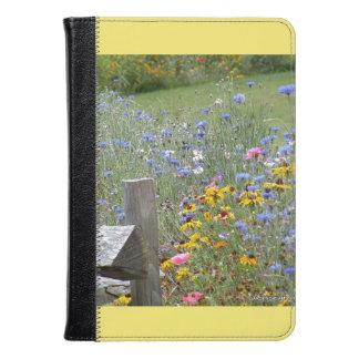 Cottage Flowers Kindle Fire HD Case