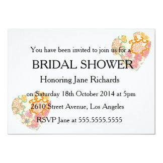 Cottage Garden Bridal Wedding Shower 5x7 Paper Invitation Card
