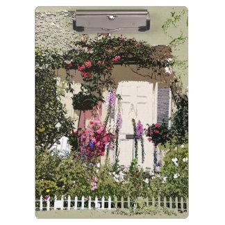 Cottage Garden Clipboard