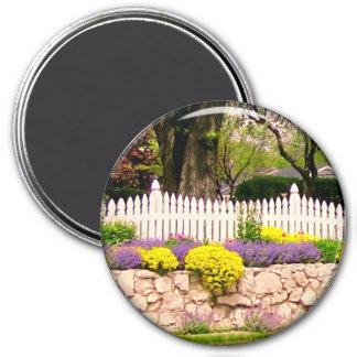 Cottage Garden Curb Appeal Refrigerator Magnet Magnets