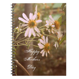 Cottage Garden Daisies Mothers Day Gift Notebook