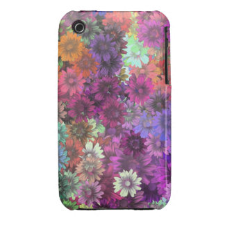 Cottage garden floral pattern iPhone 3 cover