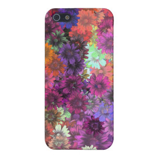Cottage garden floral pern cover for iPhone SE/5/5s