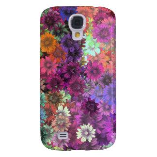 Cottage garden floral pern galaxy s4 case