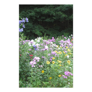 Cottage Garden - Flowers and Woods Stationery