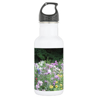 Cottage Garden - Flowers and Woods Water Bottle