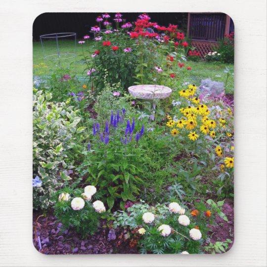 Cottage Garden Mouse Pad