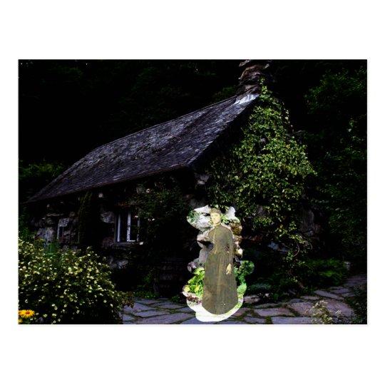 Cottage Ghost Postcard