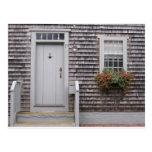 Cottage Gray Postcard
