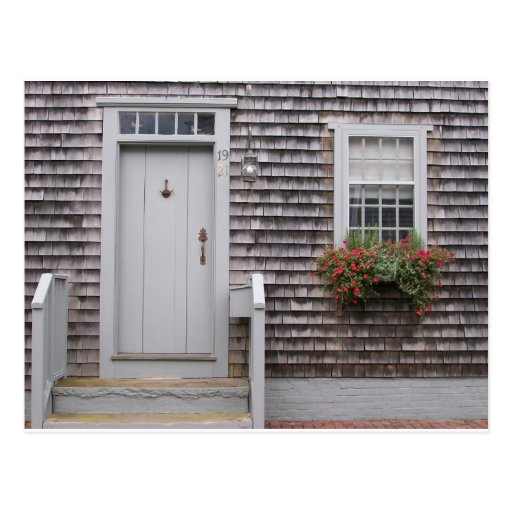 Cottage Gray Post Card