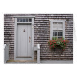 Cottage Gray Stationery Note Card