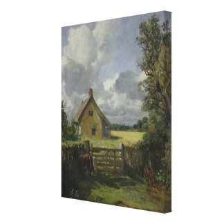 Cottage in a Cornfield, 1833 Canvas Print