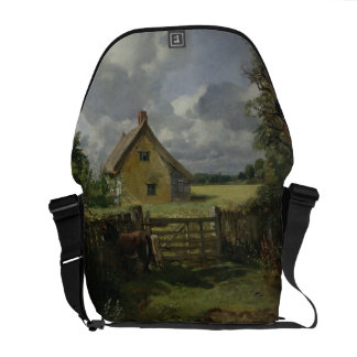 Cottage in a Cornfield, 1833 Messenger Bag