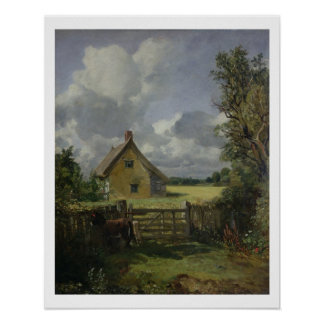Cottage in a Cornfield 1833 Print