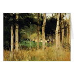 Cottage in Normandy by Berthe Morisot Greeting Card