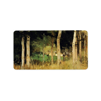 Cottage in Normandy by Berthe Morisot Personalized Address Labels