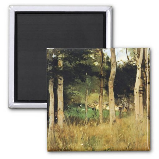 Cottage in Normandy by Berthe Morisot Fridge Magnets