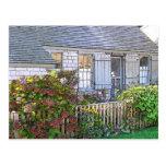Cottage in Sconset - VINTAGE LOOK Postcard