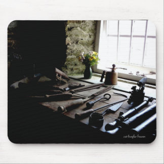 Cottage Interior Mouse Pad