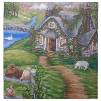 Cottage Lane Cloth Napkin