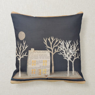 Cottage light box 2012 throw pillow