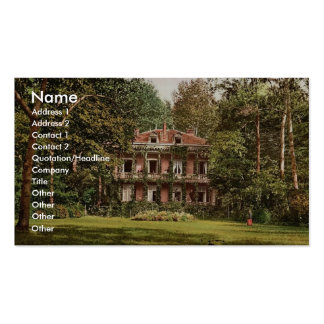 Cottage occupied by l'Empereur, Vichy, France vint Business Card