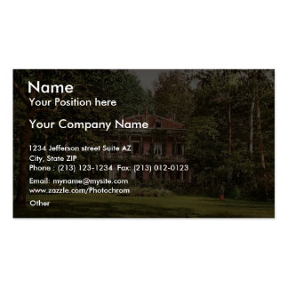 Cottage occupied by l'Empereur, Vichy, France vint Double-Sided Standard Business Cards (Pack Of 100)