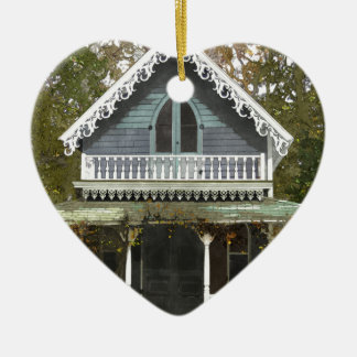 Cottage on Martha's Vineyard Ceramic Ornament