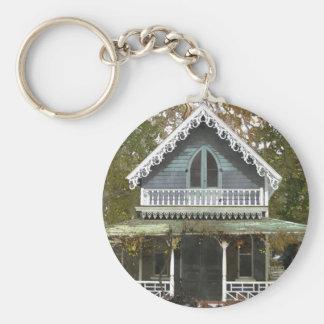 Cottage on Martha's Vineyard Keychain