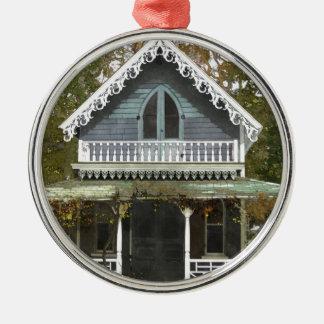 Cottage on Martha's Vineyard Metal Ornament