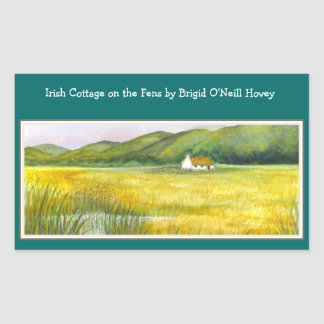 """COTTAGE ON THE FENS"" Stickers by Bonhovey"