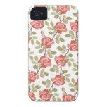 Cottage Rose iPhone 4s Case iPhone 4 Case-Mate Case