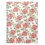 Cottage Rose Notebook