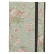 Cottage Rose Vintage Floral iPad Air Cover