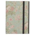 Cottage Rose Vintage Floral iPad Case