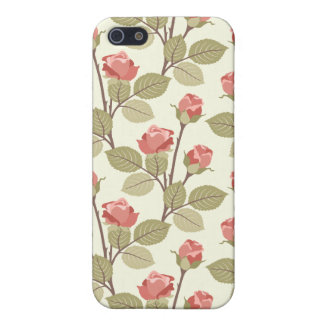 Cottage Rosebuds Cover For iPhone SE/5/5s
