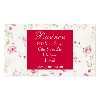 Cottage Roses Business Card 1