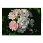 Cottage Roses Thank You Note Cards