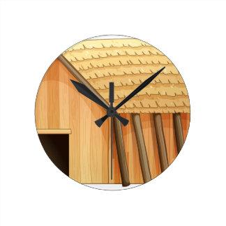 Cottage Round Clock