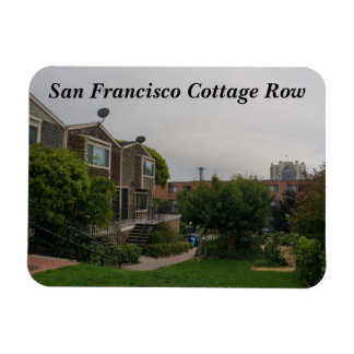 Cottage Row Victorian Houses Magnet