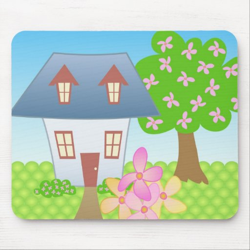 Cottage – Spring Mouse Pad