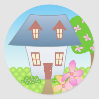 Cottage – Spring Stickers