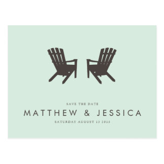 Cottage Wedding Save the Date // Postcard
